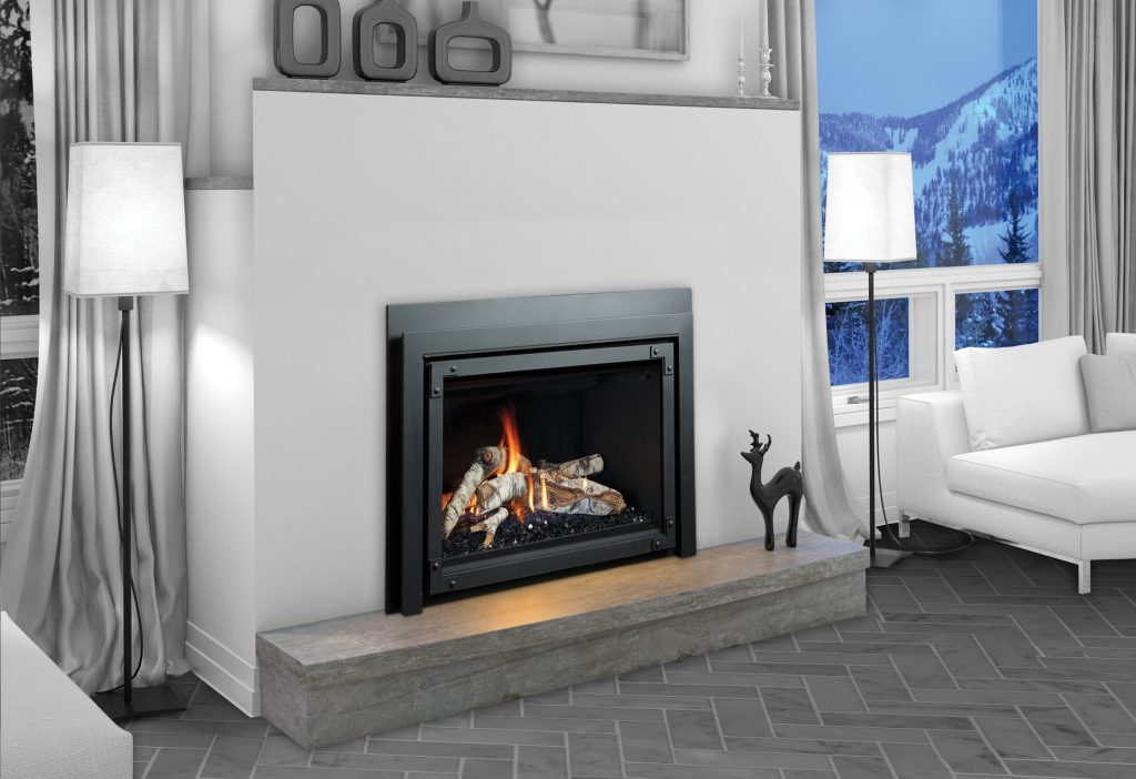 Gas Fireplace Insert - Marquis Fireplaces - Model Capri
